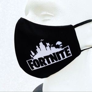 fort nite video game adult face mask